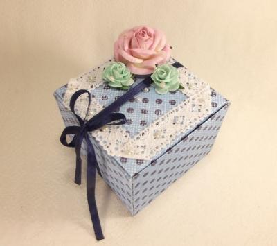 Gift box hand made