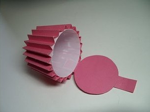 Cupcake Paper Circle