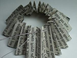 Sew Harmonica of paper
