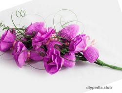 букет цветов из конфет своими руками