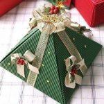 """Подарочная упаковка """"Пирамида"""" своими руками"""