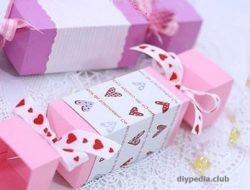 конфета из бумаги своими руками