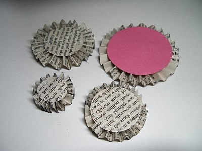 Blanks for making cupcakes from paper