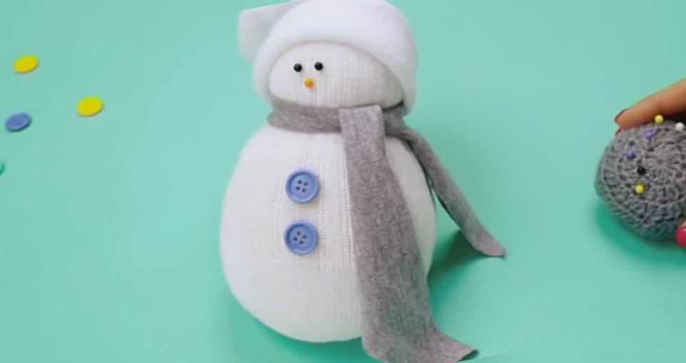 носик для снеговика