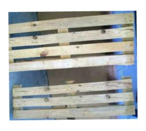 Bench of pallets, chopped pallet