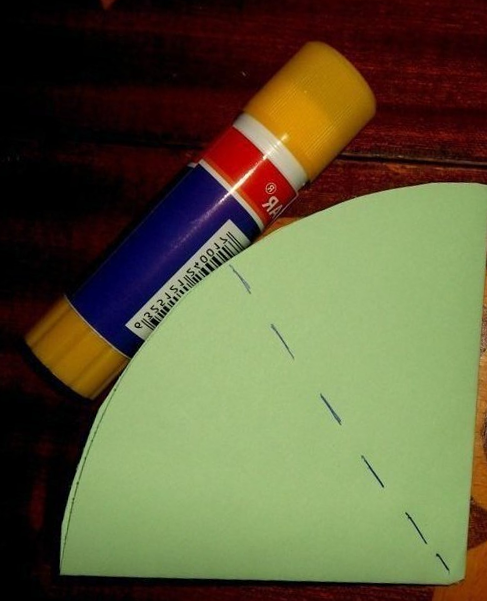 Gluing paper Umbrella