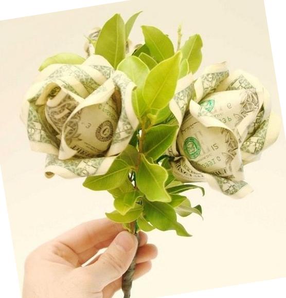 букет роз из денег своими руками