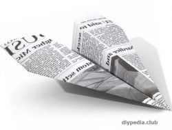 самолетик из бумаги своими руками