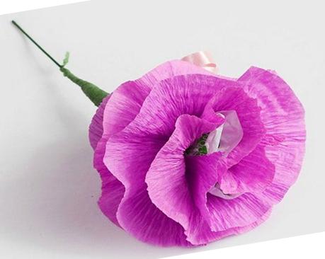 Make wavy petals