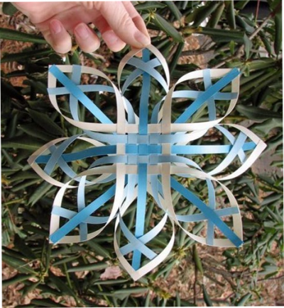 Volume snowflake from paper