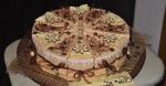 Торт из бумаги с пожеланиями