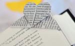 "Оригами закладка для книги ""Сердце"""