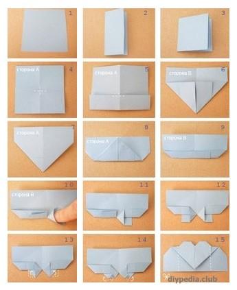 закладка уголок оригами