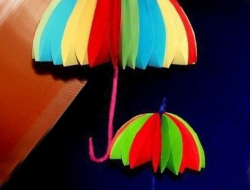 зонт из бумаги собственными руками