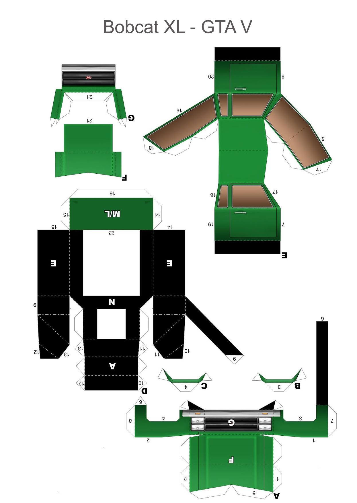 Bobcat XL схема