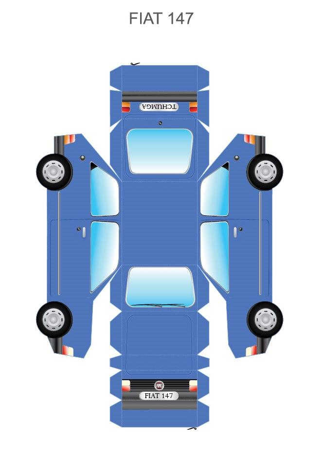 Шаблон FIAT 147