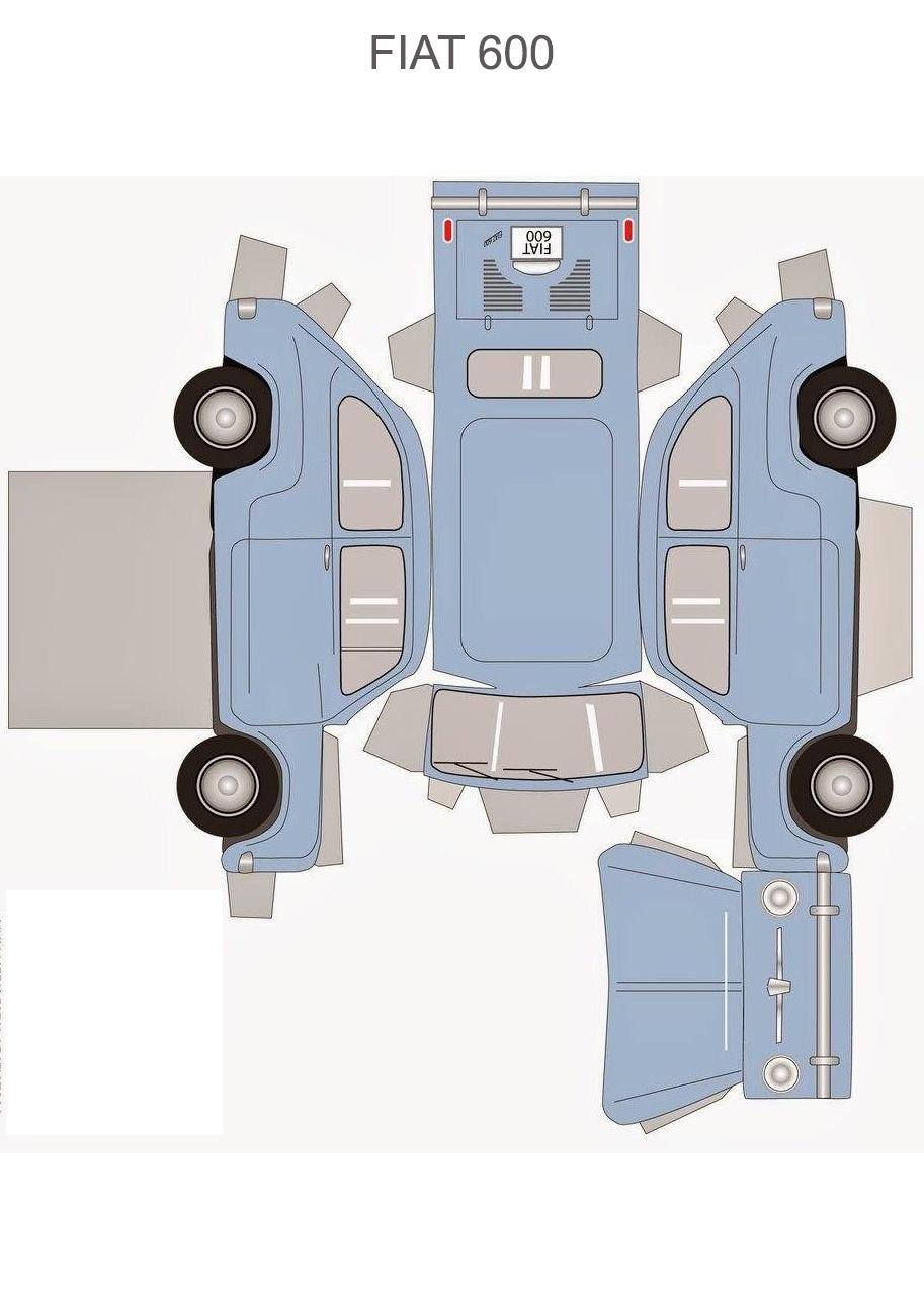 Шаблон FIAT 600