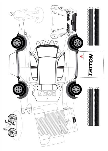 Mitsubishi L200 Triton Paper