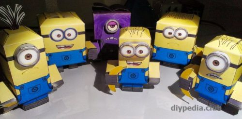 Minions from paper