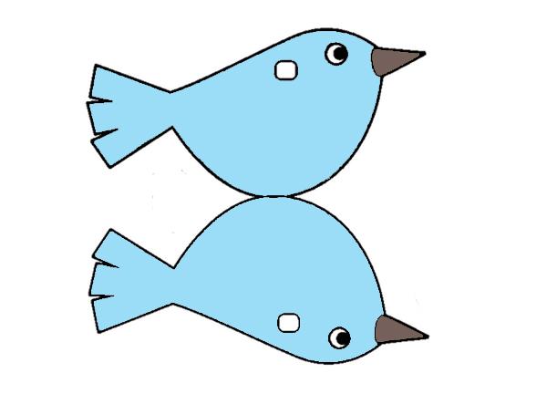 шаблоны птиц для вырезания из бумаги
