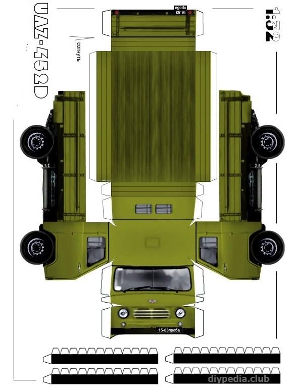 Грузовая машина УАЗ-452