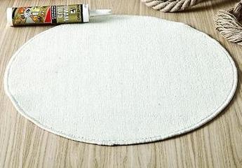 круг из брезентовой ткани для ковра из каната