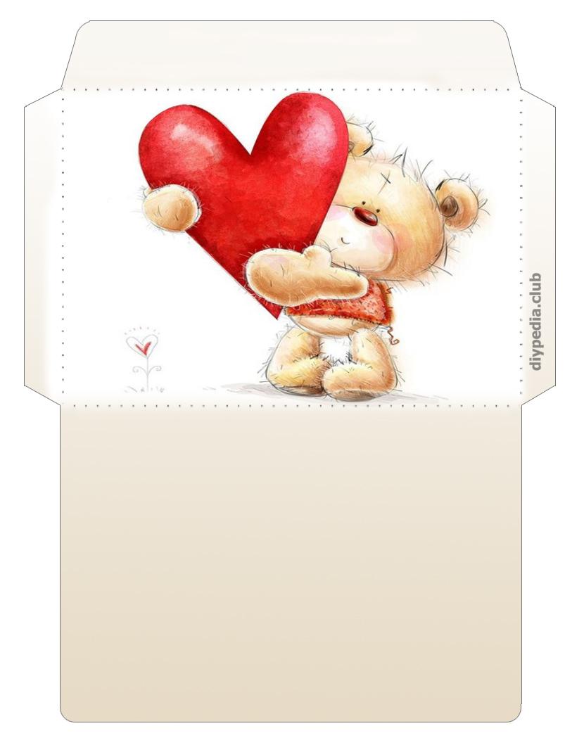 Umschlag mit den Händen