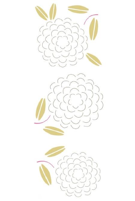 2 Fonarikaiz paper pattern