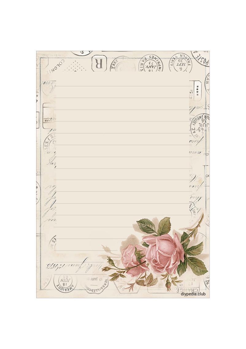 Letter paper Templates