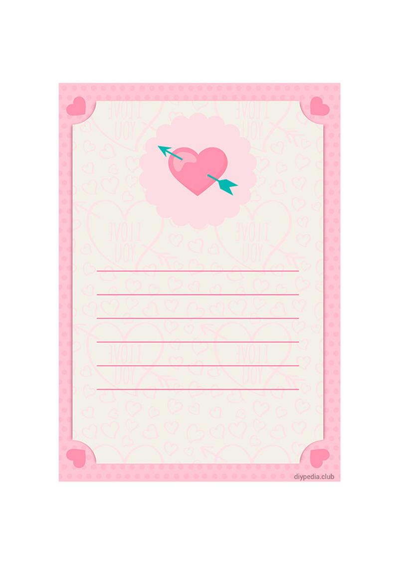 бумага для писем