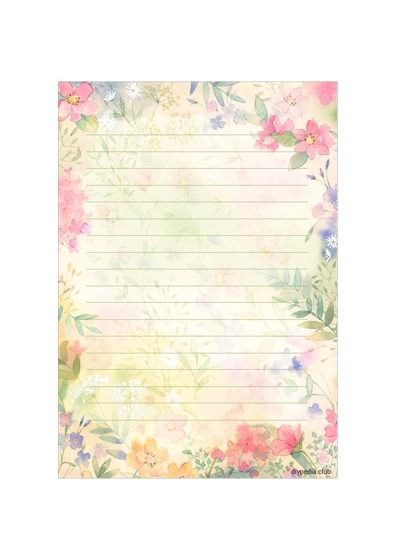 бумаги для писем
