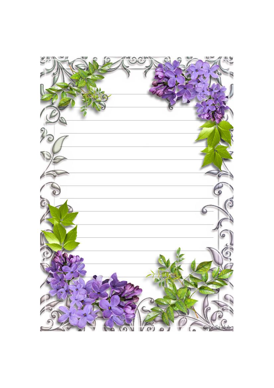 letter paper background
