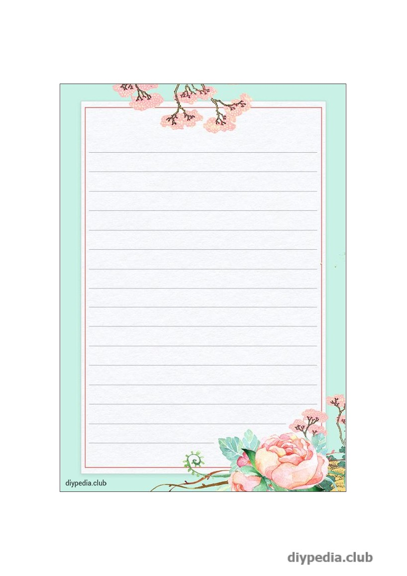 лист для письма