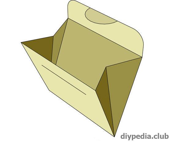 как сделать конверт своими руками без клея