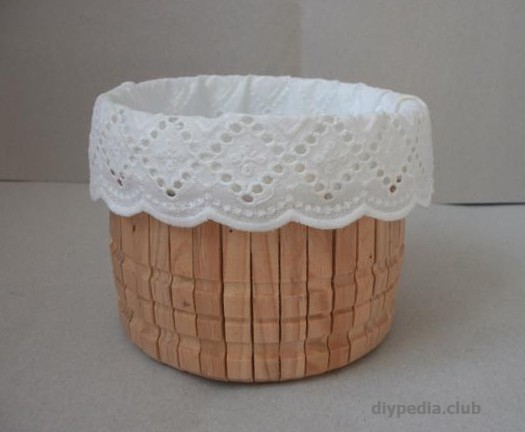 Photo Basket with own hands