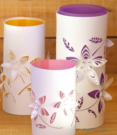 Paper lanterns scheme