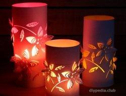 китайские фонарики из бумаги