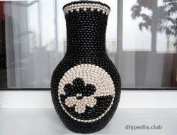 ваза своими руками из подручных материалов