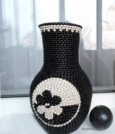 Photo vase decor