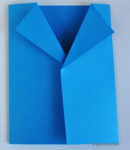 открытка пиджак с галстуком