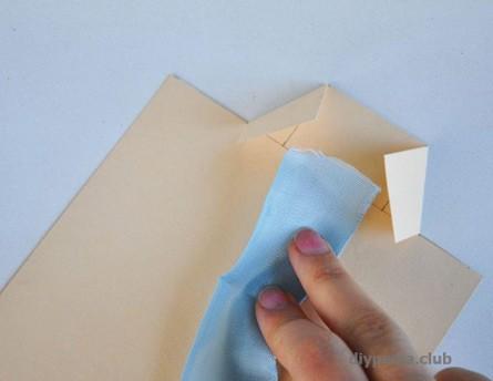 How to make a postcard jacket