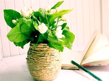 How to make a vase at home