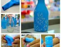 как из бутылки сделать вазу своими руками