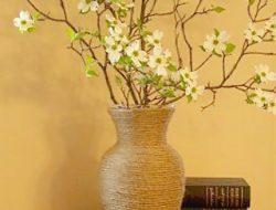 декор стеклянных ваз своими руками