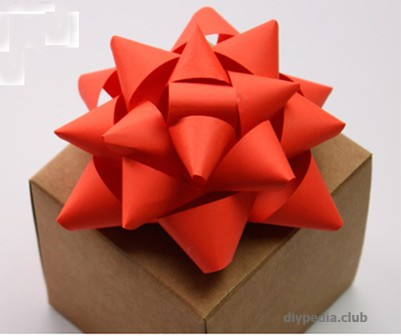 Beautiful bow for gift