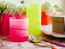 из чего можно сделать вазу