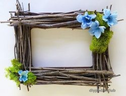 how to make a frame with your own hands