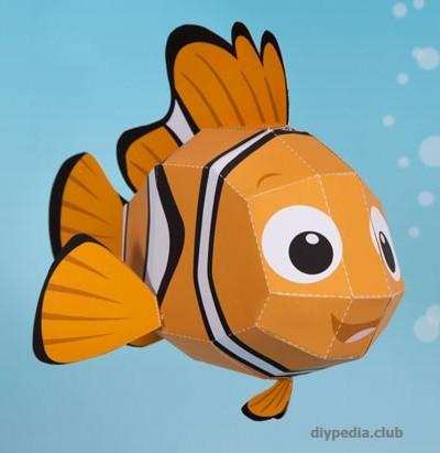 рыбка из бумаги