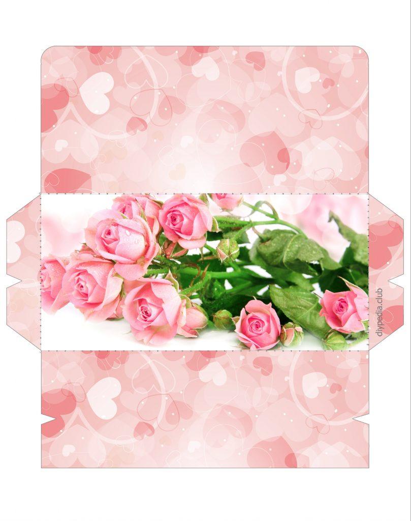 Print envelope template