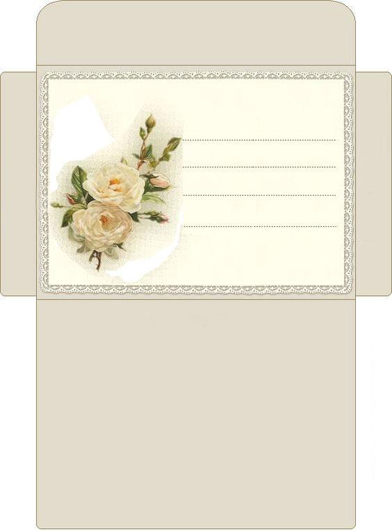 шаблон конверта из бумаги своими руками